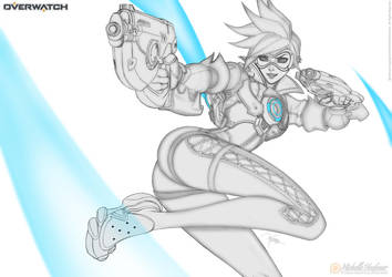 Tracer - Line Art by MichelleHoefener