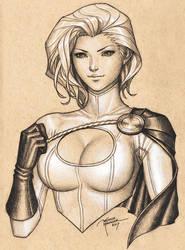 Power Girl II by MichelleHoefener