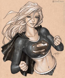 Supergirl by MichelleHoefener