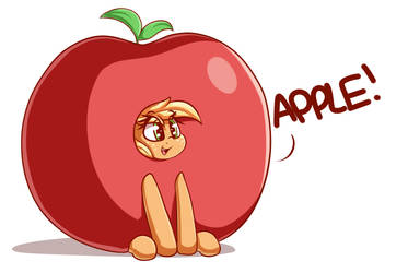 Apple by GrapheneDraws