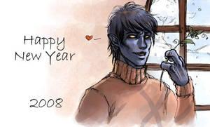 Happy New Year 2008 by Obsidiurne-Morgil