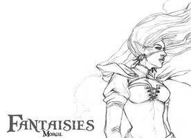 Couverture Fantaisies by Obsidiurne-Morgil