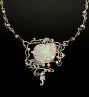 Australian Opal Necklace by nataliakhon
