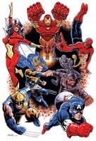 New Avengers by 93Cobra
