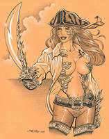Capn' Witchblade by 93Cobra