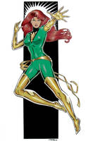 Jean Grey - Phoenix by 93Cobra