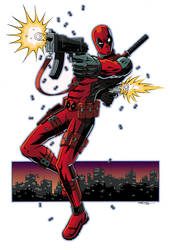 Deadpool Colored by 93Cobra