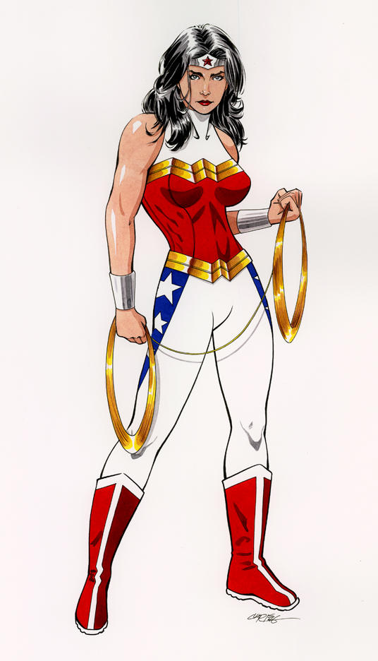 Wonder Woman Costume Redesign by 93Cobra