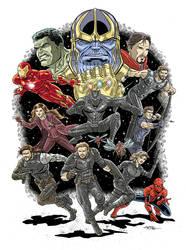 Avengers Infinity War by 93Cobra