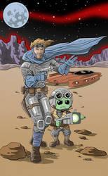 Classic Sci Fi - Promo Piece by 93Cobra