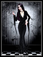 Halloween VI - Morticia by poserfan