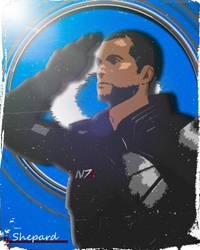 Shepard by oggepoggelj