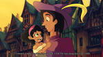 Clopin and Esmeralda by GothicMonocle