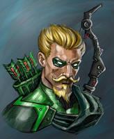 Green Arrow by ReddNekk