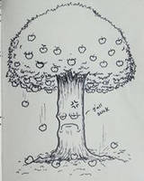The Angry Apple Tree by Effieeee