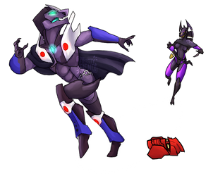 Better run fast, young Vortixx! by CryoticSerpent