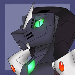 Cydronix bust by CryoticSerpent