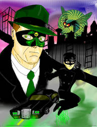 The Green Hornet and Kato Alt by city-slipping-dues