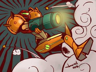 Happy Birthday Metroid by DandDurand