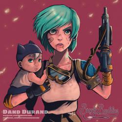 Bulma Connors by DandDurand