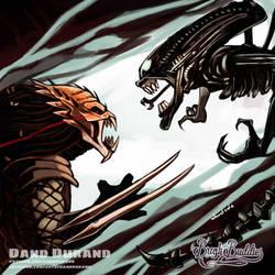 Alien vs Predator by DandDurand