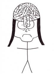 Damian Tenma caricature by Szabu