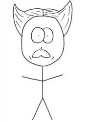 Rex Kyubi caricature by Szabu
