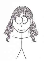 Constance Courte caricature by Szabu