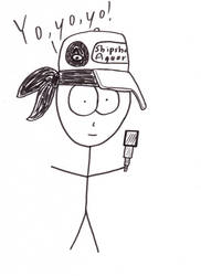 Marlon Rimes caricature by Szabu