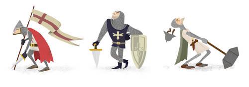 Knights by stopmotionben