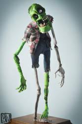 Zombie by stopmotionben