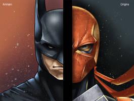 Batman Arkham Origins Fanart by zerothreeone