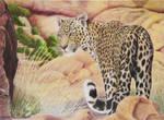 Panthera pardus by Leogon