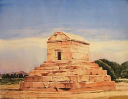 Pasargadae by Leogon