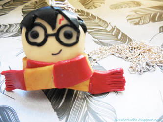Harry Potter Pendant by Misstymountains