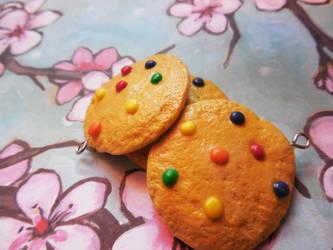 M n' M Cookie Pendants by Misstymountains