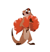 Timon for TLKFAA Collab by Camriko