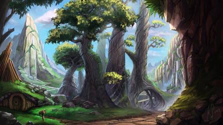 Wonder land by Bezduch