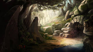 Forest Dungeon by Bezduch