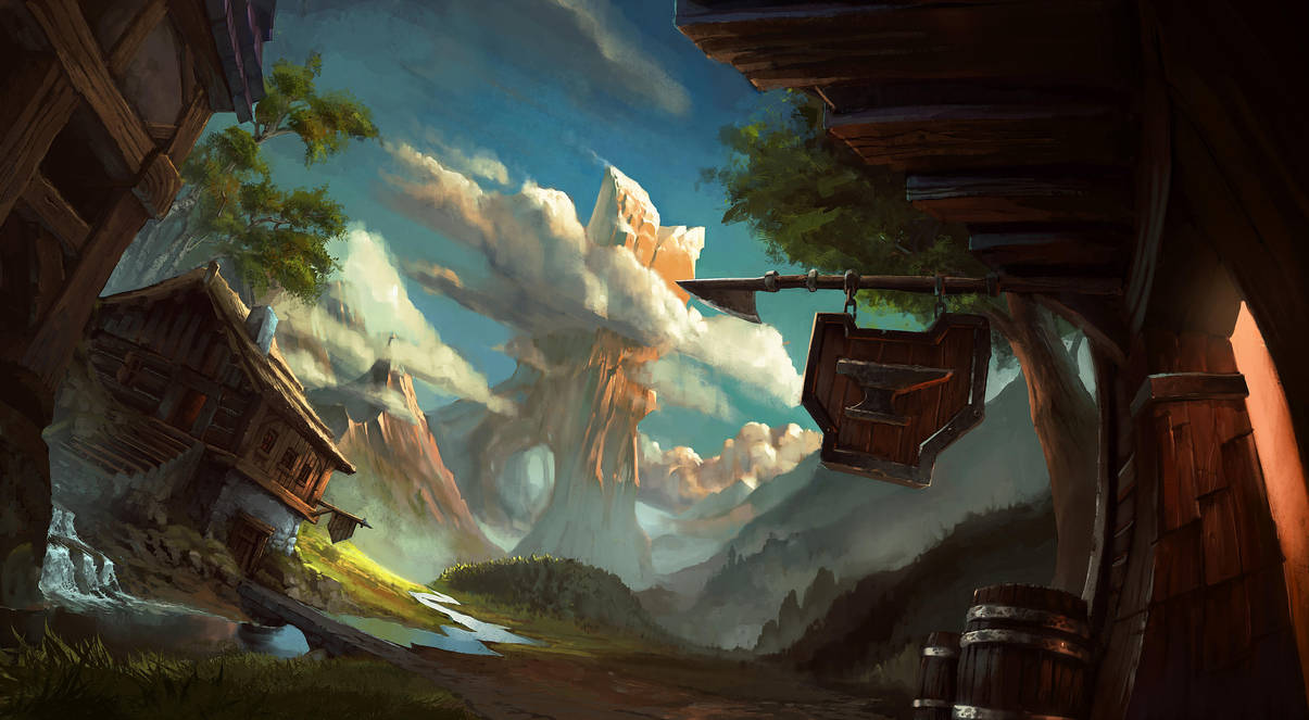 Mountain view by Bezduch