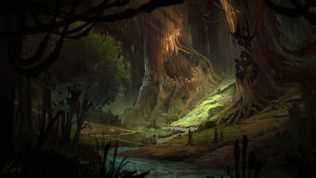 Fairy Forest by Bezduch