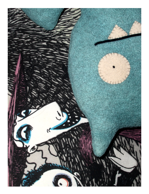 Ice Bat the Ugly Doll by the-Mad-Hatress