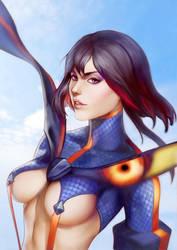 Ryuko Matoi- Kill la Kill by WeijiC