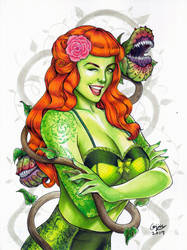 Bombshell Poison Ivy by WeijiC