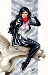 Cindy Moon (Silk) by WeijiC