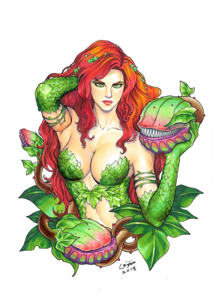 Poison Ivy by WeijiC