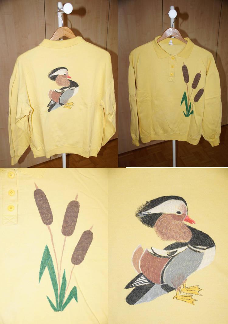 Shirt Mandarin Duck by bifishiar