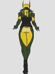 X-23: Laura Kinney by Hikarihhart