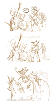 of mages and small injuries by MoonlitAlien
