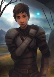 Knightgirl by AtTheSpeedOfFetus
